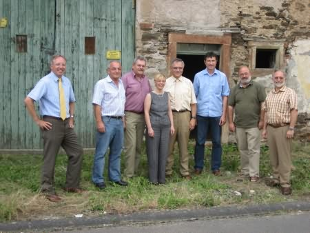 Ortstermin zur Planung des Krippenmuseums