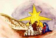 Das Vereinsemblem mit Geburt, Klüsserath und Krippenstern