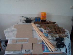 Bauanleitung für eine einfache Krippe