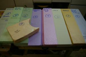 Styrodur-Vergleichstest für den Krippenbau