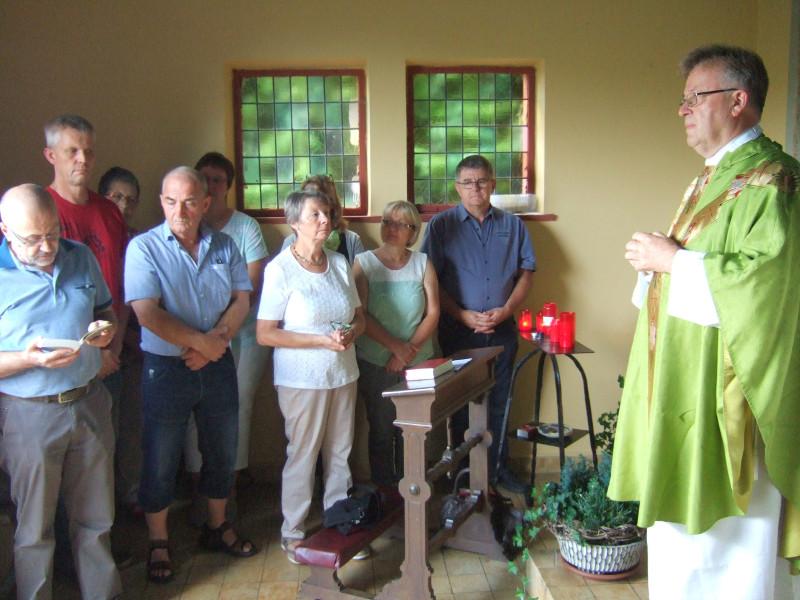 Messe in den Weinbergen