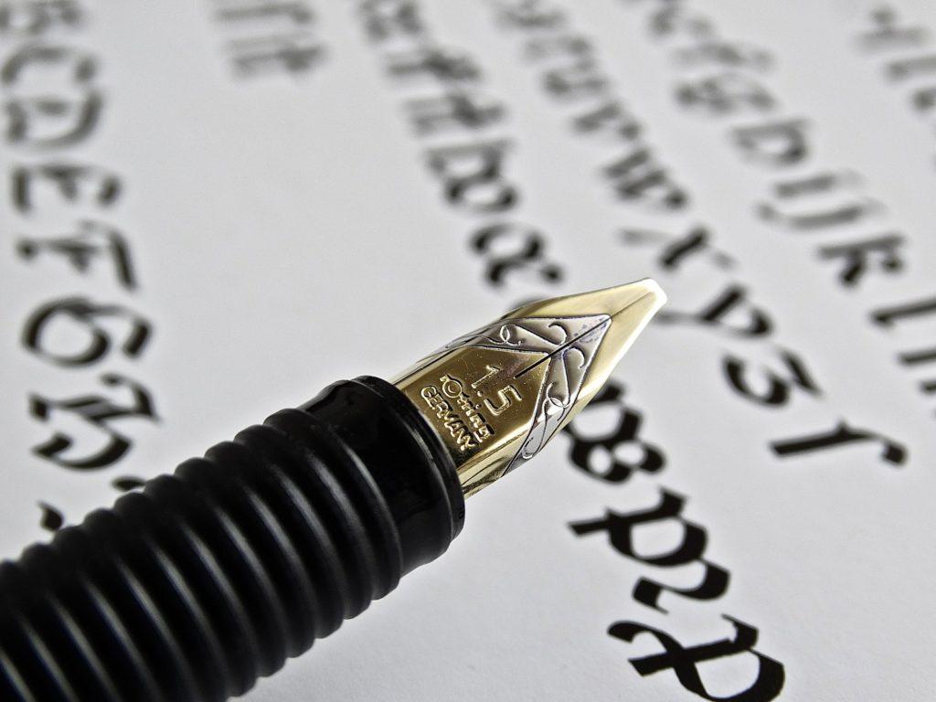 Kalligrafie-Kurs: Kunst des Schönschreibens