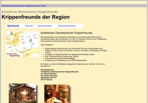 Arbeitsgemeinschaft Oberhessischer Krippenfreunde