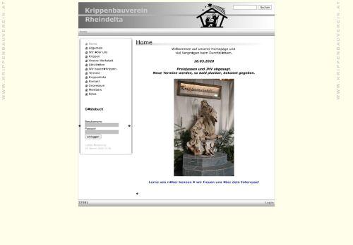 Krippenbauverein Rheindelta