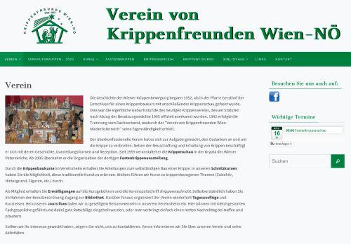 Verein von Krippenfreunden Wien und Niederösterreich