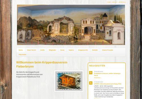 Krippenverein Fieberbrunn