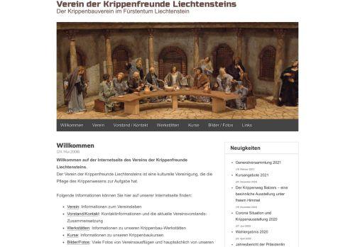 Verein der Krippenfreunde Lichtensteins