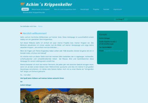Achims Hobby Krippenbau