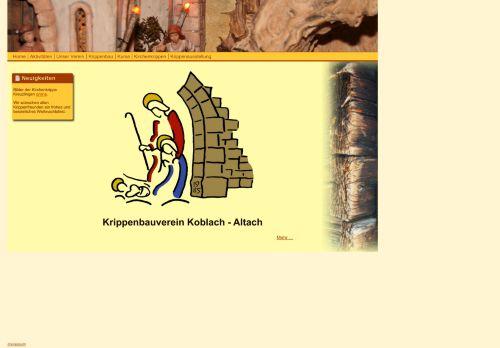 Krippenbauverein Koblach-Altach