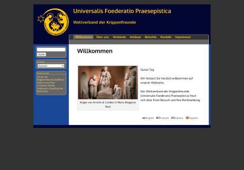 Weltverband der Krippenfreunde (Universalis Foederatio Praesepistica)