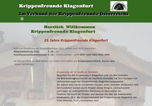 Krippenfreunde Klagenfurt