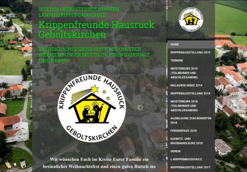 Krippenfreunde Hausruck Geboltskirchen
